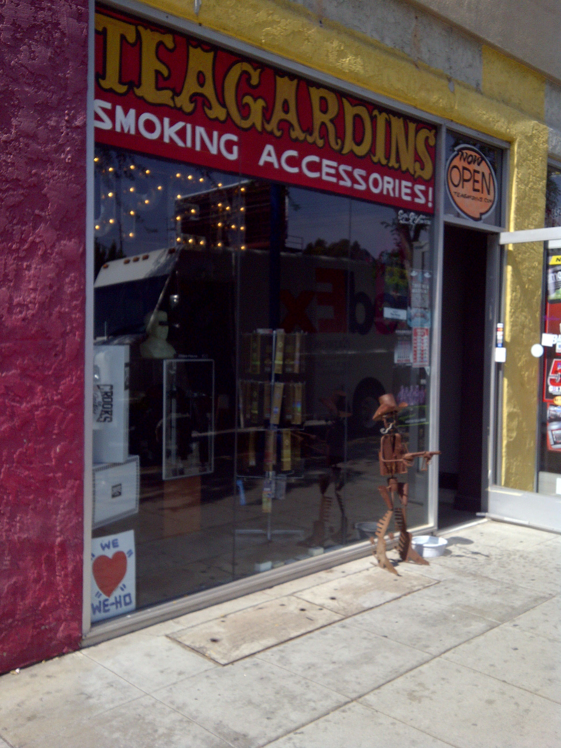 "Teagardin""s Smoke Shop- 8531 Santa Monica Bl-W.Hollywood"